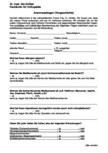 Dentalshop Fur Die Zahnarztpraxis Anamnesebogen 3